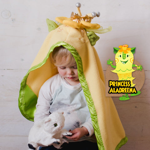 """Princess Aladreena"" — the Buttercup Yellow Heir to the Throne"