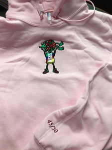 Summer Pink Strawberry Cough Hoodie