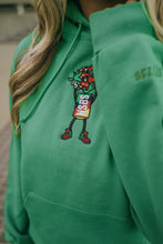 Load image into Gallery viewer, Green Strawberry Cough Hoodie