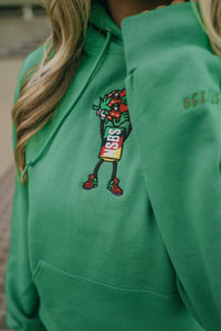 Green Strawberry Cough Hoodie
