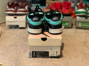 Tiffany Dunk Low size 9