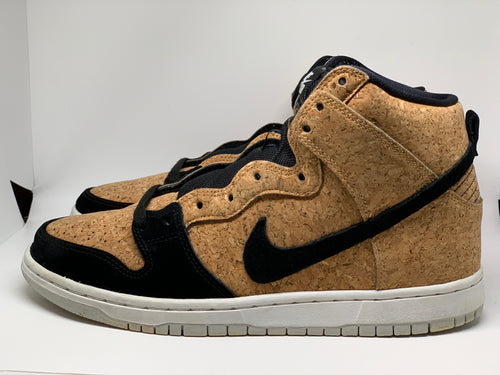 Cork Dunk High size 8