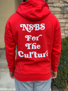 "Red NSBS ""For the Culture"" Hoodie"