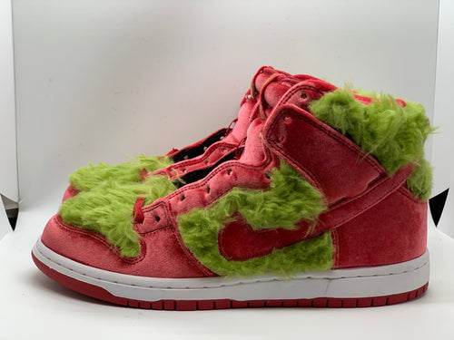 Grinch Custom Dunk High size 8