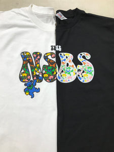 NSBS x UnGrateful Bear white Tee