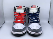 Load image into Gallery viewer, Born in the USA Dunk High size 9.5