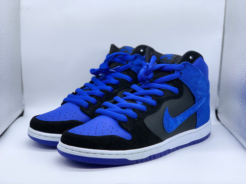 Royal blue Dunk High size 10 (DS)