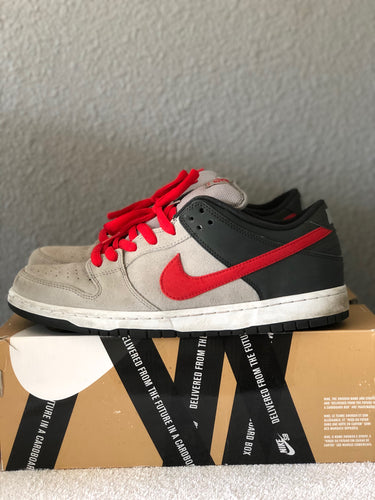 Medium Grey Dunk Low size 11.5