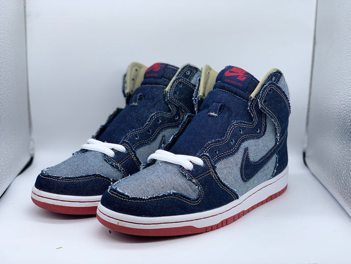 Denim Reese Forbes Dunk High size 9