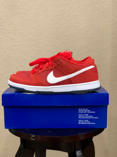 Red challenge Dunk Low size 11.5