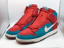 Load image into Gallery viewer, Bloody gums dunk highs size 12.5 preowned