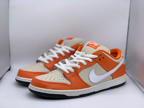 Orange Box Dunk Low size 9.5