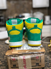 Load image into Gallery viewer, Oakland A Dunk High size 7