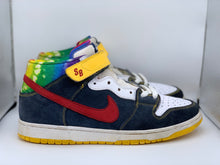 Load image into Gallery viewer, Tie dye Dunk Mid size 12