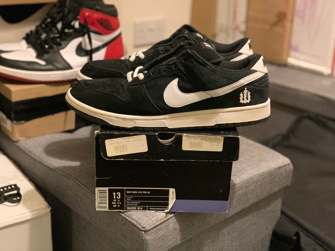 Wieger Dunk Low size 13