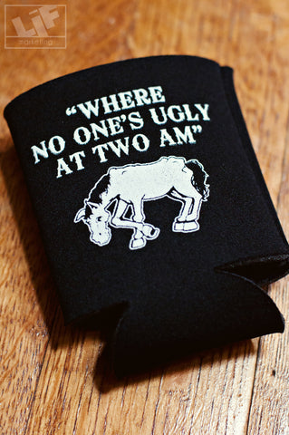 "The Horse ""No One's Ugly"" Koozie"