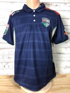 *Metropolis Old Boys BLK Polo (Stock)