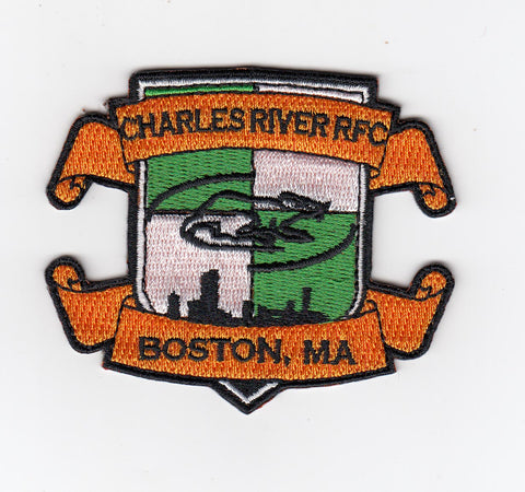 Charles River Embroidered Patch (STOCK)