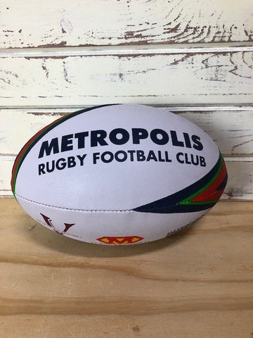 *Metropolis Rugby Ball - Size 5 (STOCK)