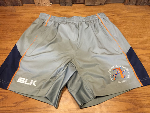 *Amazons Gym Short - Grey (RA)