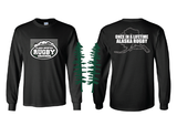 Alaska Mountain Rugby Grounds Long Sleeve Tee (Pre-Order)