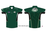 Alaska Rugby Grounds Green BLK Polo (Pre-Order)