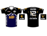 Alaska Rugby Ground Black BLK Jersey (Pre-Order)