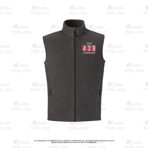 Troop 439 - Embroidered Women's Sleeveless Vest (79086)