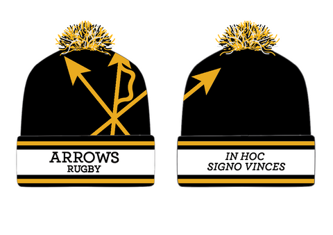 Arrows Rugby Pom Beanie (Stock)