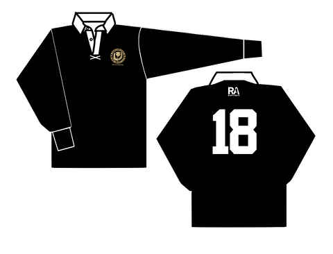 Denver Highlanders 50th Anniversary Long Sleeve Cotton Jersey Black (Pre-Order)