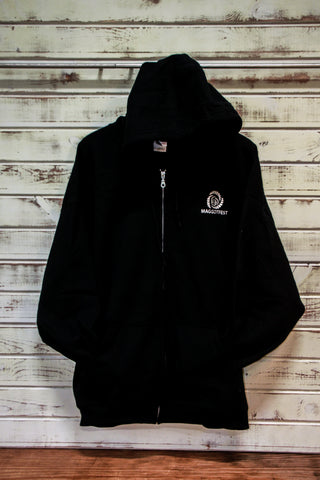 Missoula Maggotfest-Black Zip Up - Women's Fit