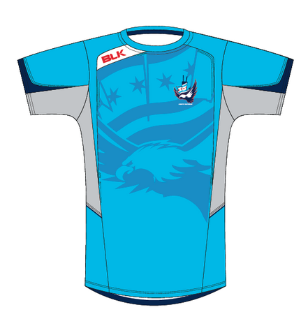 CARFU BLK Training Shirt - Sky Blue