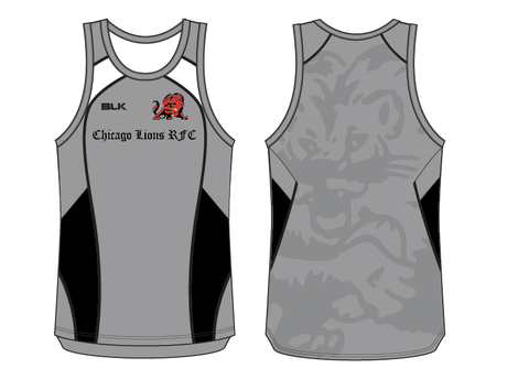 Chicago Lions BLK Singlet