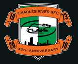 Charles River 45th Anniversary Long Sleeve Cotton Jersey (Stock)