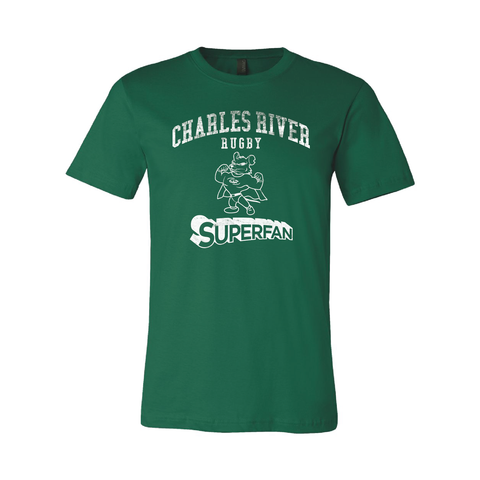 Charles River Superfan T-Shirt, Green