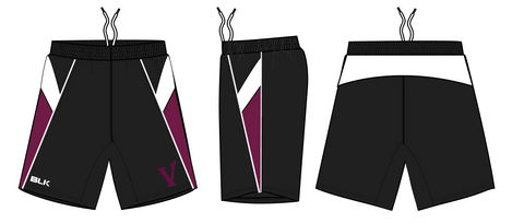 Minnesota Valkyries BLK Gym Shorts (Stock)