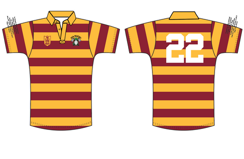 SFA Rugby Alumni Short Sleeve Cotton Jersey with Numbers (Pre-Order)