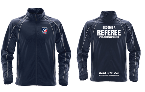 Texas Rugby Ref Track Jacket (Pre-Order)