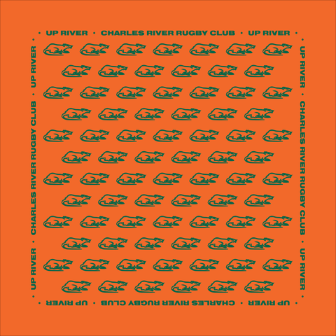 Charles River Bandana, Orange (STOCK)