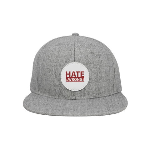 Hate is Wrong - Hat (Black or Grey)