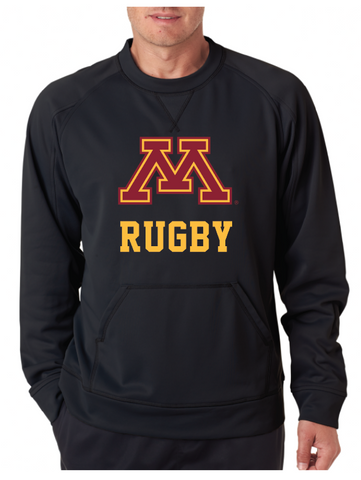 *University of Minnesota Rugby Crew Neck Fleece (RA)