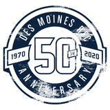 Des Moines RFC 50th - T-Shirt, Heather Grey (Pre-Order 77249)