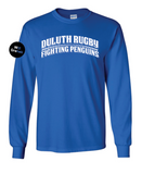 Duluth Rugby Blue Long Sleeve Tee (Stock)