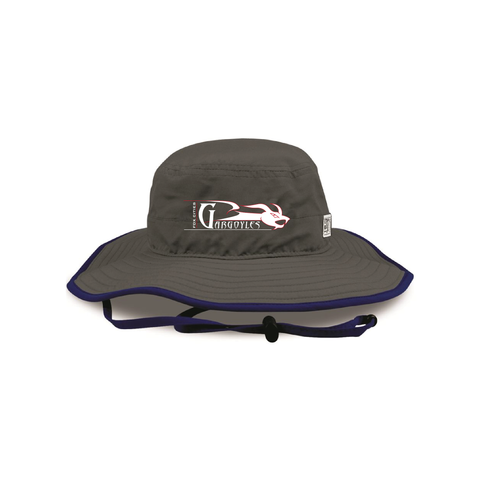 Fox Cities Gargoyles - Boonie Hat, Charcoal (Pre-Order)