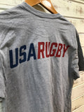 *USA Rugby Gray Shield T-Shirt (RA)