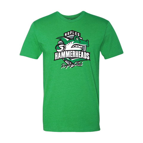 Naples Hammerheads Rugby - T-Shirt, Green (Pre-Order)