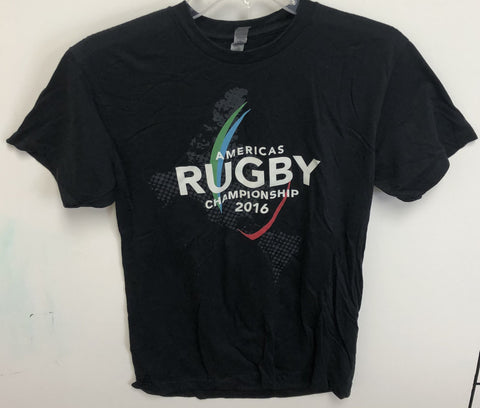 USA Rugby Americas Rugby Championship 2016 Black T-shirt