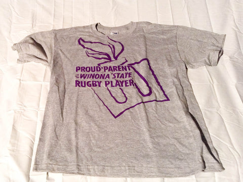 Winona State Rugby Proud Parent Tee