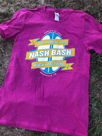 Nash Bash U19 T-Shirt, Antique Heliconia