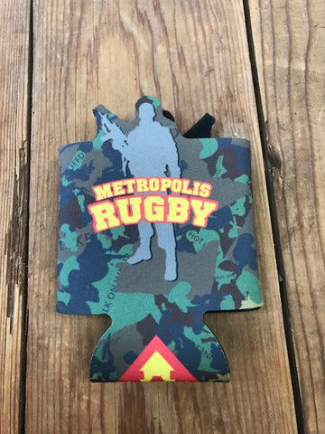 Metropolis Camo Can Coozie (STOCK)
